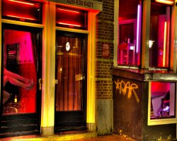 City Break Holiday, Amsterdam, The Netherlands, Red Light District photo