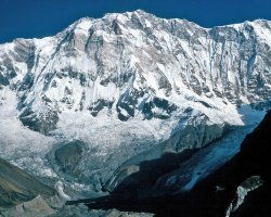 Climbing Holiday, Annapurna, Nepal, South side view