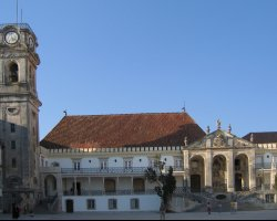Coimbra, Portugal, The University tower