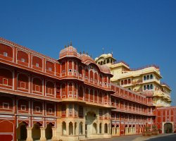 Color City Holiday, Jaipur, India, City palace