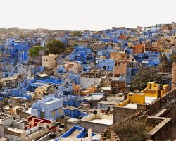 Color City Holiday, Jodhpur, India, City close view
