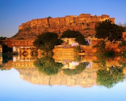 Color City Holiday, Jodhpur, India, Panoramic cityscape