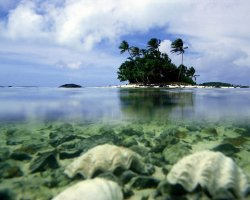 Unreal Paradise, Cook Islands, Aitutaki under water view