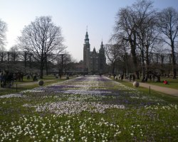 Copenhagen, Denmark, Rosenborg Slot & The Kings Garden