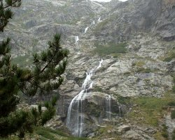 Corsica, France, Waterfall and Trecking site