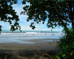 Costa Rica, America, Quiet beach