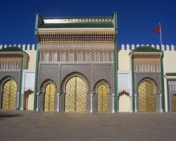 Country Holiday, Fes, Morocco, Royal Palace entrance