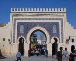 Country Holiday, Fes, Morocco, Blue Gate