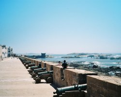 Country Holiday, Essaouira, Morocco, Canons wall