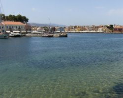 Crete, Greece, Chania Old Harbour