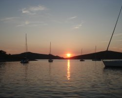 Croatian Beaches, Kornati, Croatia, Sunset