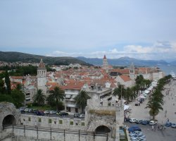 Trogir, Croatia, City skyline