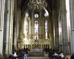 Croatia Holiday, Zagreb, Croatia, Cathedral Marijina Uznesenja interior view