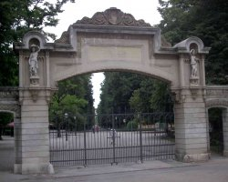 Croatia Holiday, Zagreb, Croatia, Maksimir Park entrance