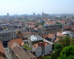 Croatia Holiday, Zagreb, Croatia, City view from Lotrscak Tower