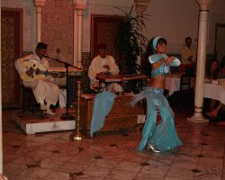 Dance Holiday, Morocco, Belly Dancer in a restaurant2