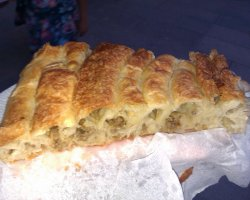 Delicious snacks, Burek, Serbia, Presentation 08