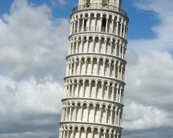 Disappointing Holiday, Leaning Tower of Pisa, Italy, Europe, Overview
