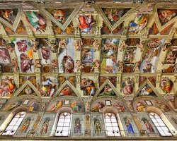 Disappointing Holiday, The Sistine Chapel, Vatican City, Ceiling