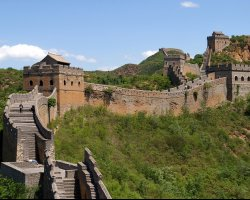 Disappointing Holiday, Great Wall, China, Asia, Overview