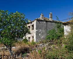 Discover Thassos I, Theologos, Greece, Ruined old house