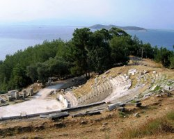Discover Thassos II, Limenas, Greece, Antic Theatre 02