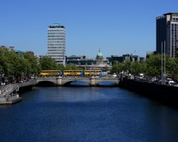 Dublin attractions, Ireland, O'Connell Bridge