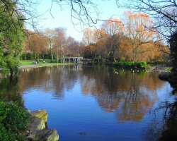 Dublin attractions, Ireland, St Stephens Green park