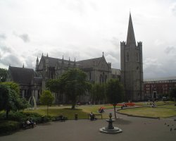 Dublin attractions, Ireland, St Patricks Cathedral overview