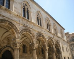 Tourist Attraction, Dubrovnik, Croatia, Rectors Palace facade architecture