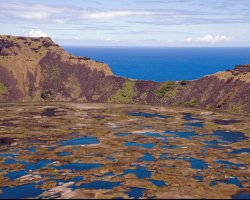 Easter Island, Chile, South America, Rano Kau