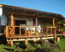 Easter Island, Chile, South America, House on the island