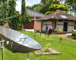 Ecotourism Holiday, Solar panel
