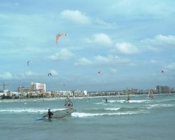 Ecotourism, Windsurf and kite