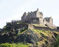 Edinburgh Castle, Scotland, United Kingdom, day view