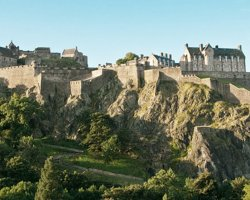 Edinburgh Castle, Scotland, United Kingdom, panoramic view