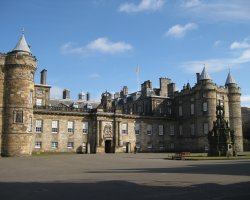 Edinburgh, Scotland, Holyrood Palace