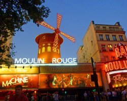 Enchanting Holiday, Paris, France, Moulin Rouge enchanted