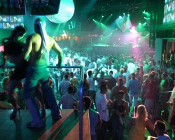 Europe Nightlife, Ibiza, Spain, Night club full