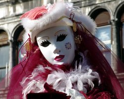Event Holiday, Venice, Italy, Venice Carnival mask presentation