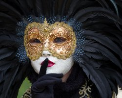 Event Holiday, Venice, Italy, Venice Carnival mask presentation7