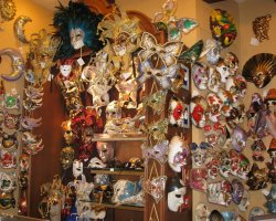 Event Holiday, Venice, Italy, Venice Carnival masks shop