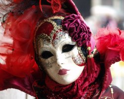 Event Holiday, Venice, Italy, Venice Carnival mask presentation2