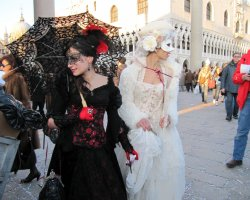 Event Holiday, Venice, Italy, Venice Carnival mask presentation3