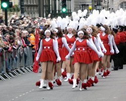 Event Holiday, London, United Kingdom, New Year Parade close view3