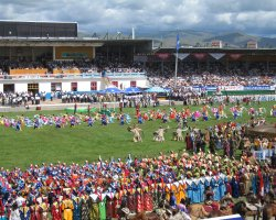 Exciting Destinations, Ulaanbaatar, Mongolia, Naadam Festival, Ceremony