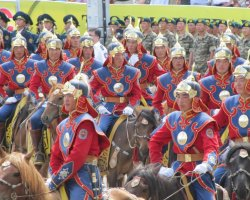 Exciting Destinations, Ulaanbaatar, Mongolia, Naadam Festival, Horse riders army