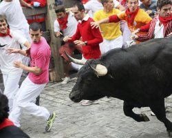Exciting Destinations, Pamplona, Spain, Running of the Bulls, Racers 02