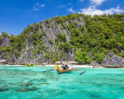 Exotic Holiday Destination, Palawan, Philippines, Boat services mear shore