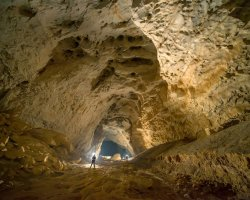 Exotic Holiday Destination, Leye Fengshan, China, Geopark cavern interior